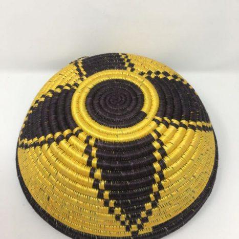 Rwandan Baskets – Bowl Ang1
