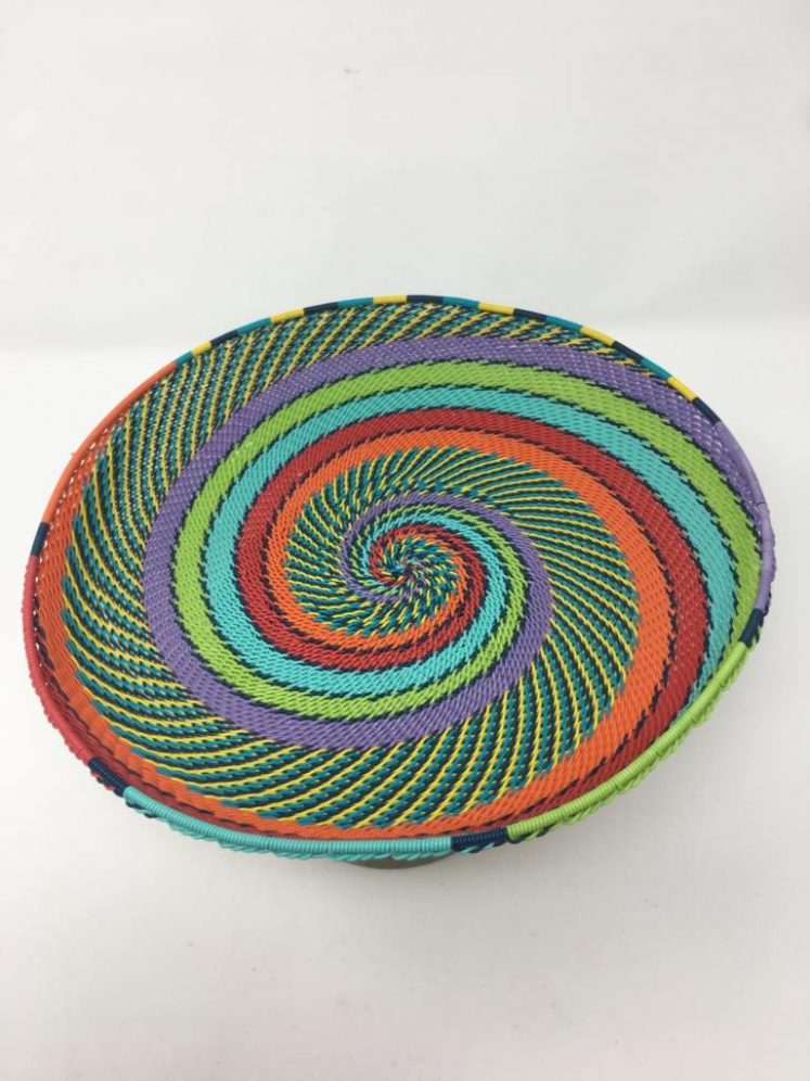 Telephone Wire Platter Rainbow Brights 1
