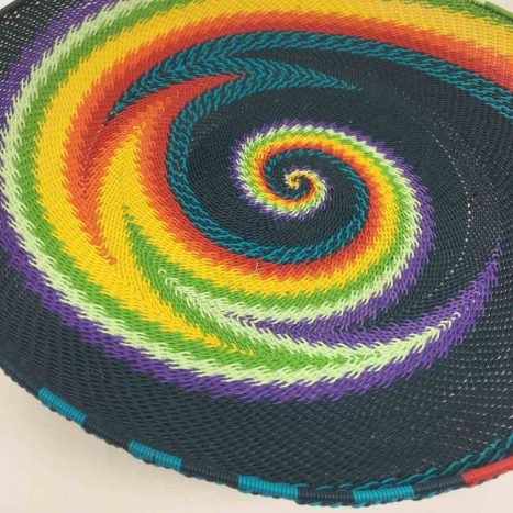 Telephone Wire Platter Rainbow Brights 2