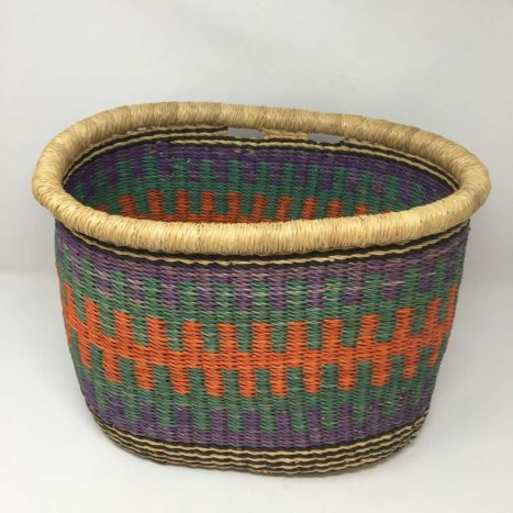 Handwoven Bicycle Basket 6