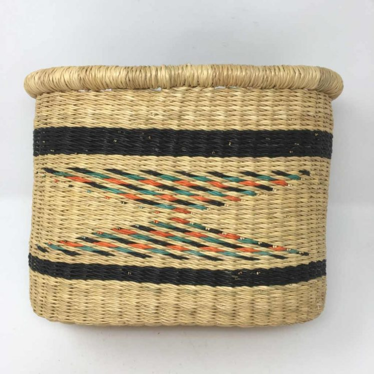 Handwoven Bicycle Basket 2