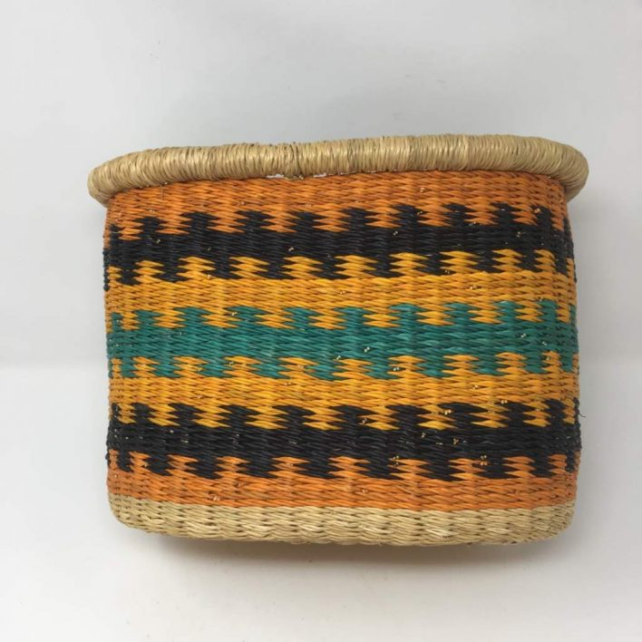 Handwoven Bicycle Basket 1