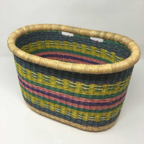 Handwoven Bicycle Basket 3
