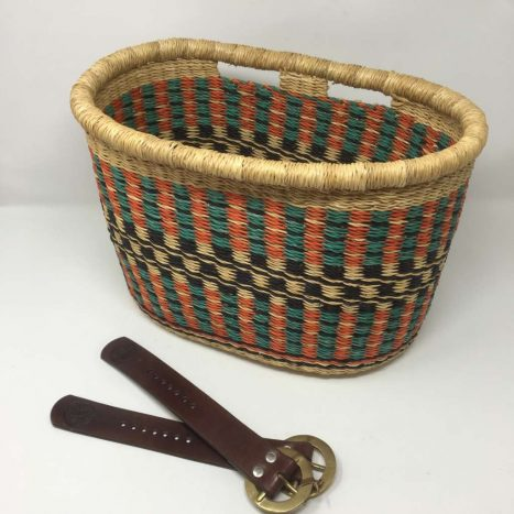 Handwoven Bicycle Basket 5