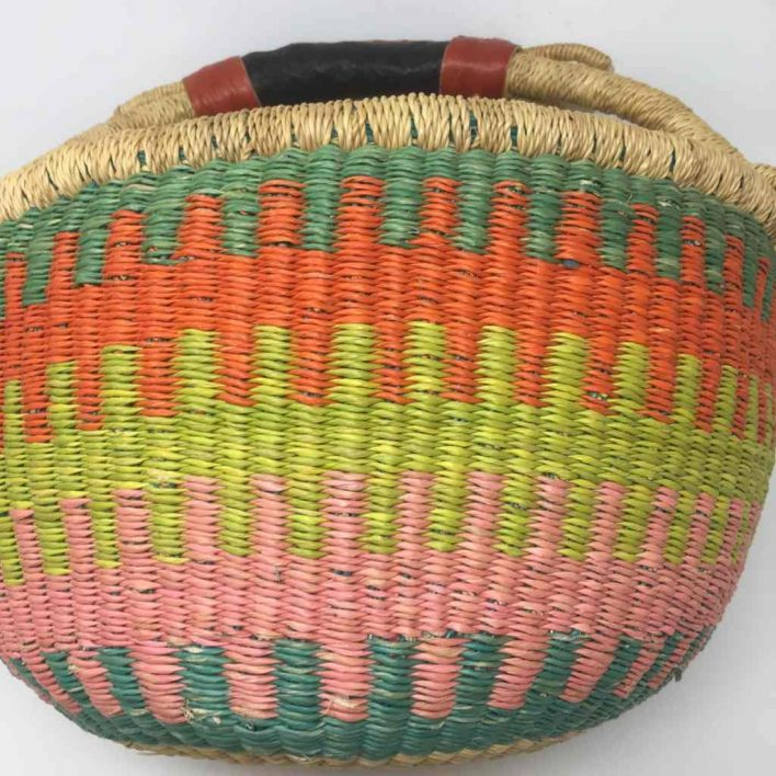 Medium Bolga Basket 107