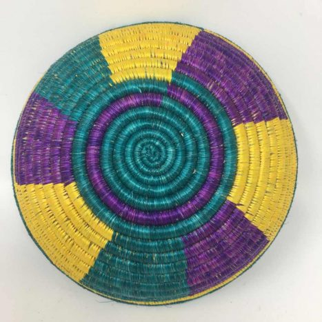 Rwandan Baskets – Bowl RWB9