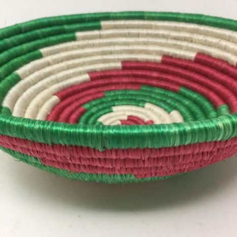Rwandan Baskets – Bowl RWB4