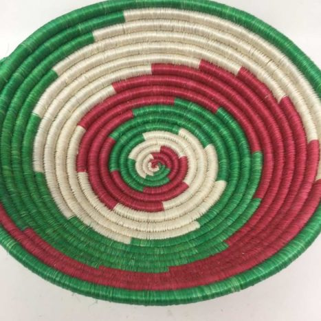 Rwandan Baskets – Bowl IJ7