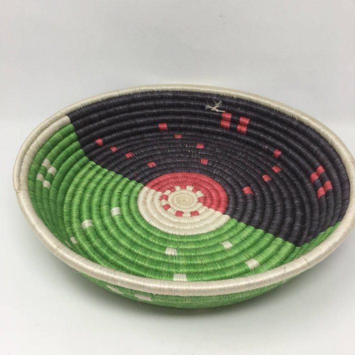 Rwandan Baskets – Large Tray RWT1