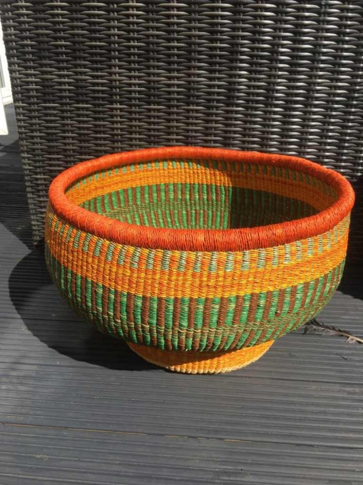 Drum Basket Extra Large Orange Brights