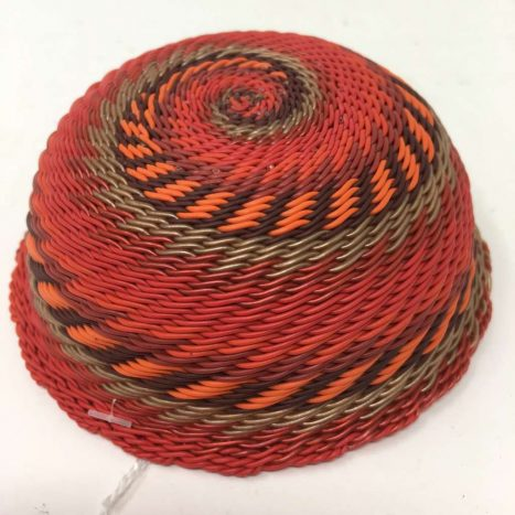 Telephone Wire Basket Rich Red 2