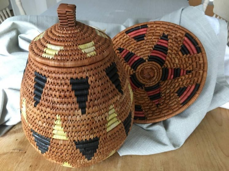 Zulu Beer Basket and Platter