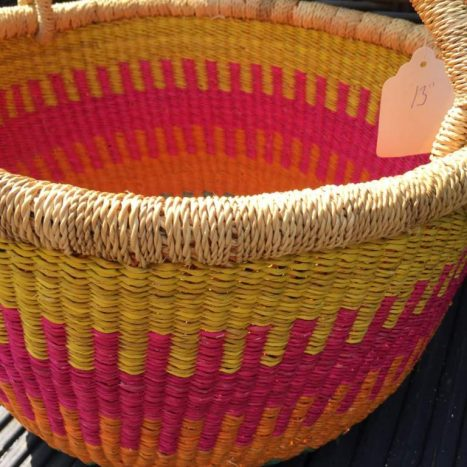 Large Bolga Basket 111