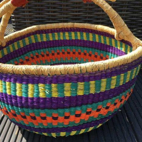 Large Bolga Basket 110