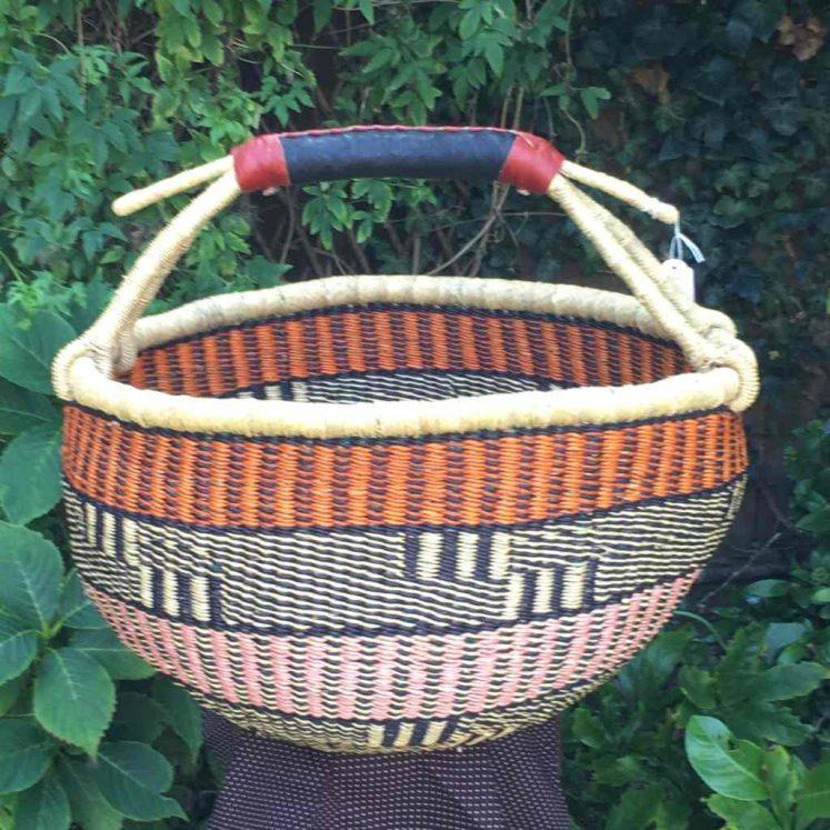 Large Bolga Basket 112