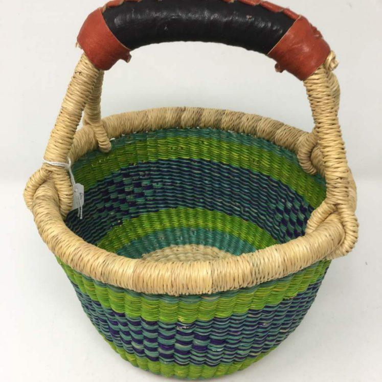 "Small Bolga Basket 8"" R82"