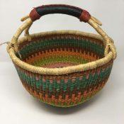 Large Bolga Basket IJS26
