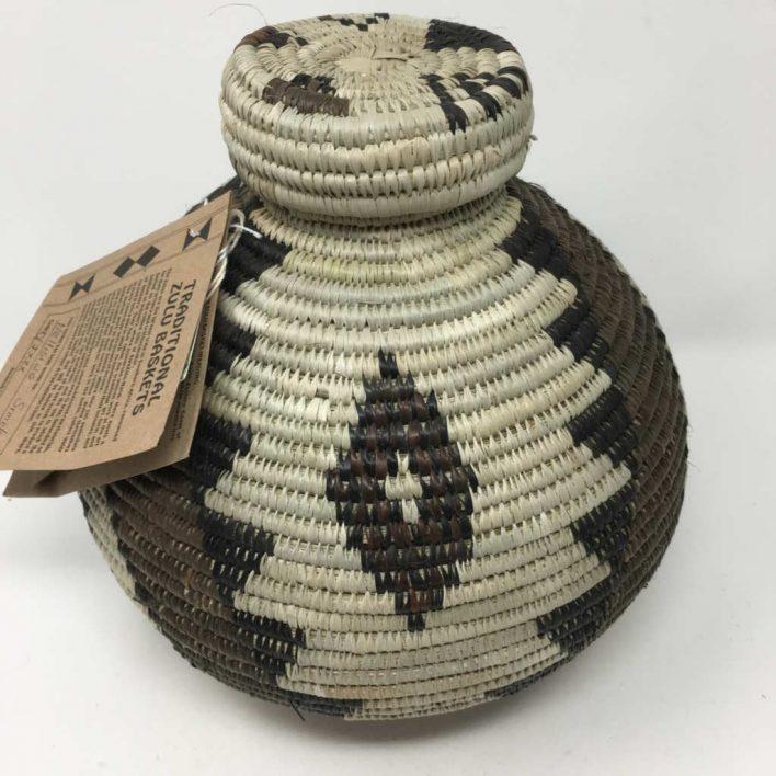 Zulu Ilala Palm Basket – Isichumo