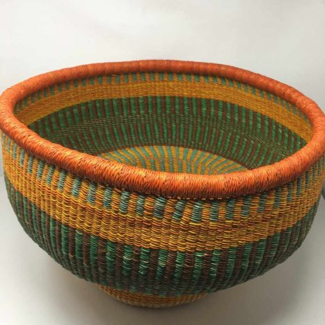 Drum Basket Large Orange