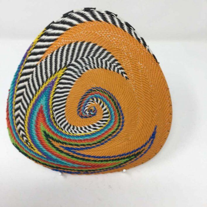Telephone Wire Basket Orange