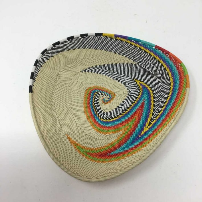 Telephone Wire Basket Oatmeal