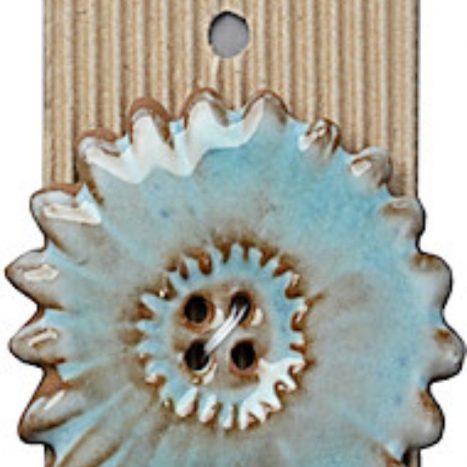 Ceramic Buttons Large Wheel Design Button L523