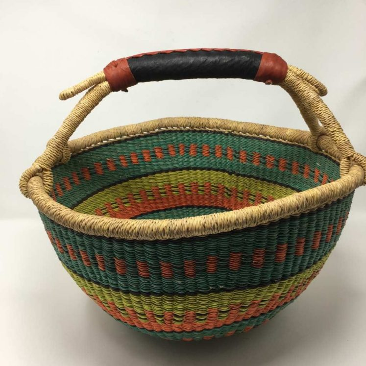 Large Bolga Basket IJB9