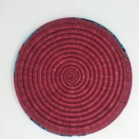 Rwandan Baskets – Raspberry Platter