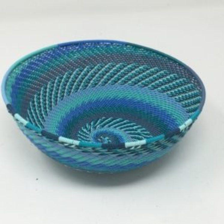 Telephone Wire Basket Ocean