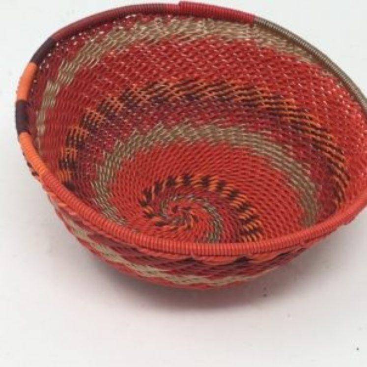 Telephone Wire Basket Reds 3
