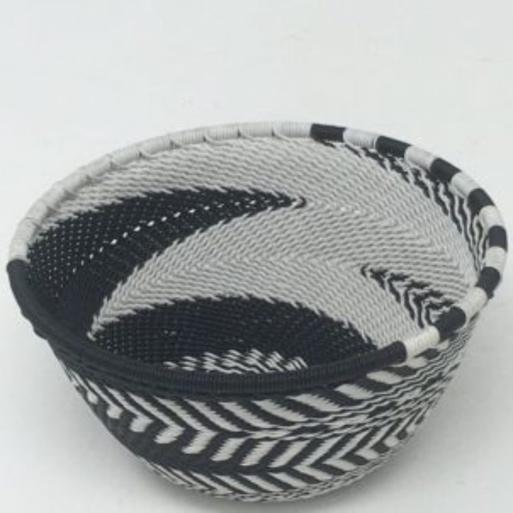Telephone Wire Basket Zebra X