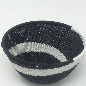 Telephone Wire Basket Zebra X 2