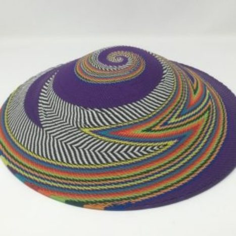 Telephone Wire Art Lampshade Style Purple Plains