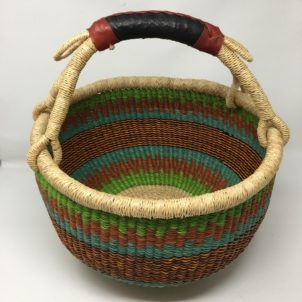Large Bolga Basket IJB10