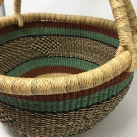 Large Bolga Basket IJB12