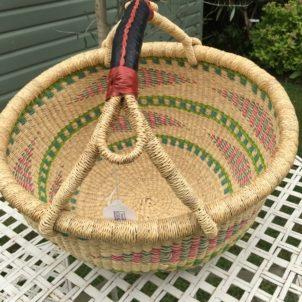 Large Bolga Basket 1819