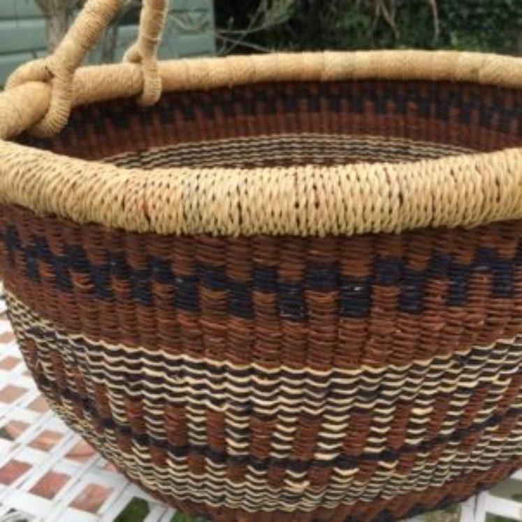 Large Bolga Basket 1818