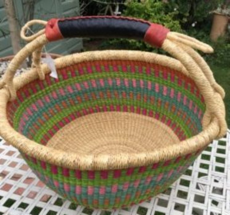 Large Bolga Basket 173
