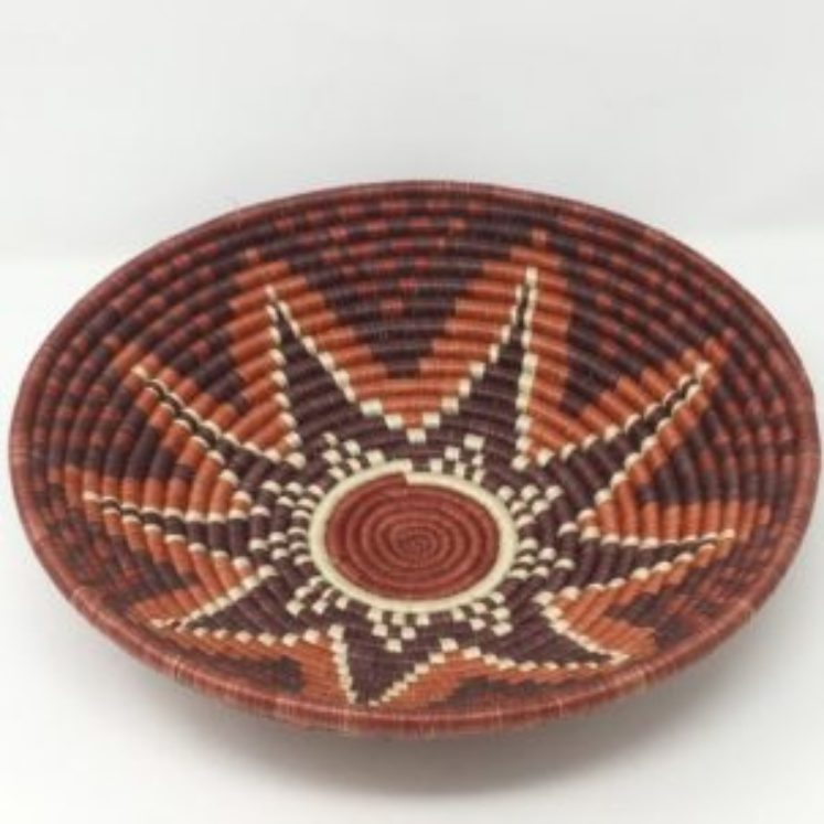 Rwandan Baskets – Bowl Deep Autumn