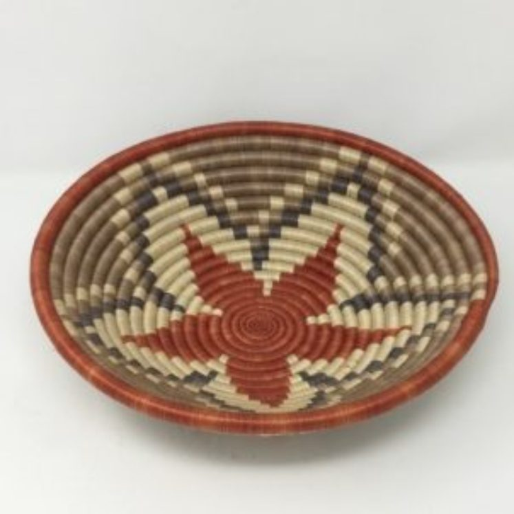 Rwandan Baskets – Bowl Autumn