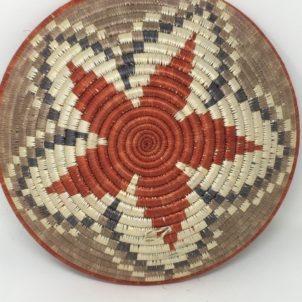 Rwandan Baskets – Bowl Autumn