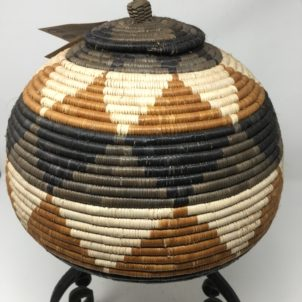 Zulu Beer Basket – Ukhamba BK