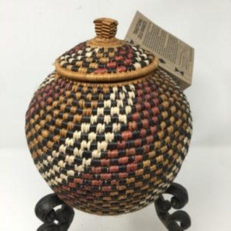 Zulu Ilala Palm Beer Basket – Ukhamba TX
