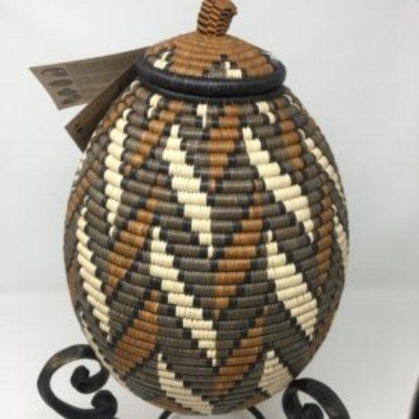 Zulu Ilala Palm Beer Basket – Ukhamba BK2