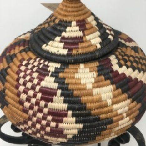 Zulu Ilala Palm Beer Basket – Ukhamba SM