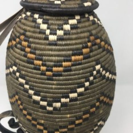 Zulu Ilala Palm Beer Basket – Ukhamba NM