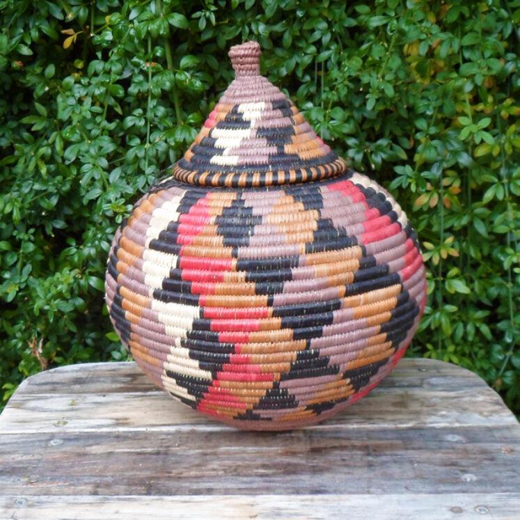 Zulu Ilala Palm Beer Basket – Ukhamba SM2