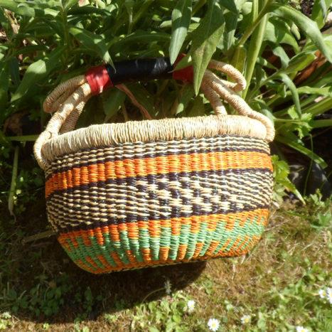 Small Bolga basket N1