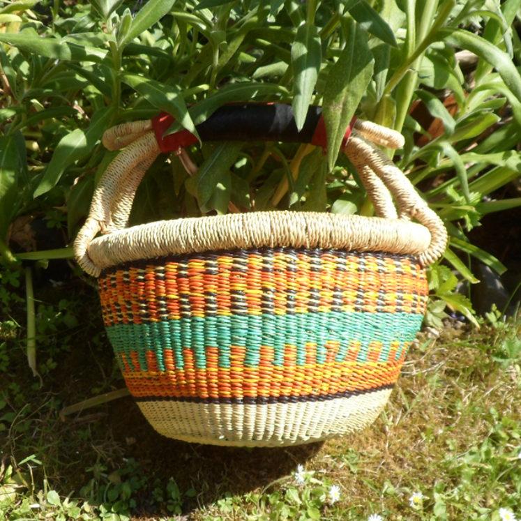 Small Bolga basket N10