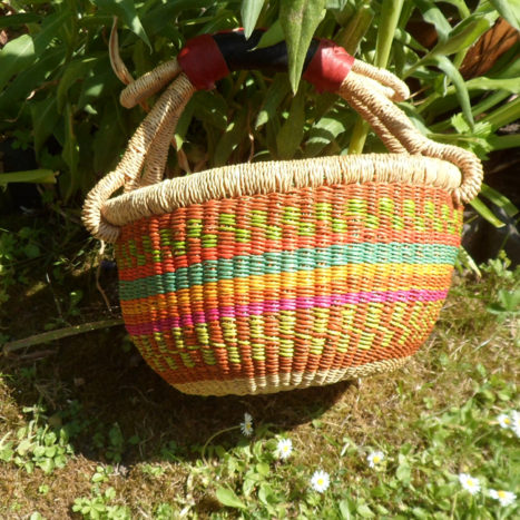 Small Bolga basket N6